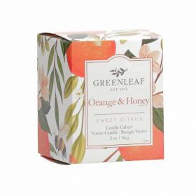 Candle Cube Orange & Honey