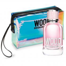 Wood Pour Femme Eau de Toilette 50ml & gratis Pouch