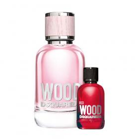 Wood Pour Femme Eau de Toilette 100ml & gratis Red Wood Miniatur