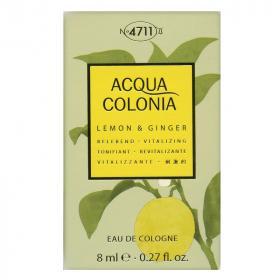 Acqua Colonia Lemon & Ginger Miniatur EdC, 8 ml