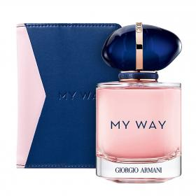 My Way Eau de Parfum 90ml & gratis Passport Holder