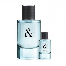 Tiffany & Love Eau de Toilette for him 90ml & gratis Miniatur