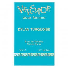 Dylan Turquoise Eau de Toilette Miniatur, 5 ml