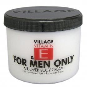 Village Vitamin E Bodycream For Men Only