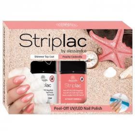 Striplac Shell Shimmer Set 2-er