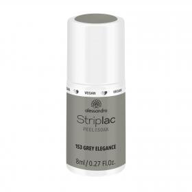 Striplac Peel or Soak 153 Grey Elegance