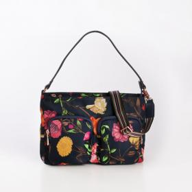 OILILY Flat Sh.Bag M Navy Night