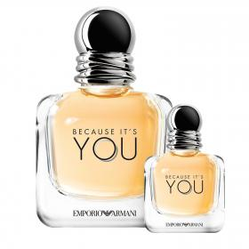 EMPORIO Because it's YOU EdP 100ml & gratis Miniatur