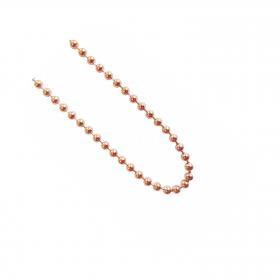 blumenkind Kugelkette rosé-gold 90cm