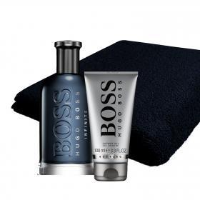 Boss Bottled Infinite Eau de Parfum 100ml & gratis Handtuch + Shower Gel