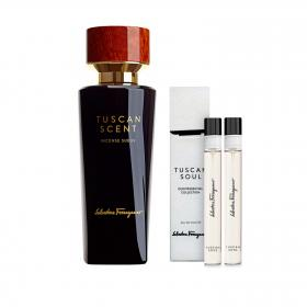 Tuscan Scent Incense Suede EdP 75ml & gratis 2x5ml Tuscan Soul EdT