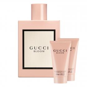 Gucci Bloom EdP 150ml & gratis Body Lotion+Shower Gel (Reisegrössen)