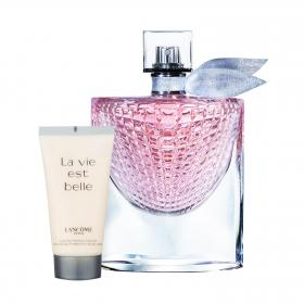 La vie est belle Eclat EdP 75ml & gratis Body Lotion (Reisegrösse)