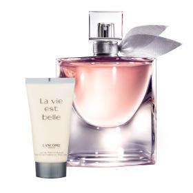 La vie est belle L'eau de Parfum 50ml & gratis Bodylotion (Reisegrösse)