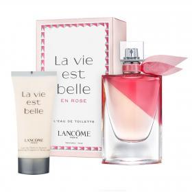 La Vie est Belle en Rose Eau de Toilette 50ml & gratis Body Lotion (Reisegrösse)