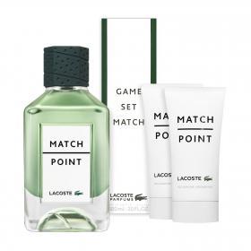 Lacoste Matchpoint Eau de Toilette 50ml & gratis Trinkflasche + Duschgel (2x 75ml)