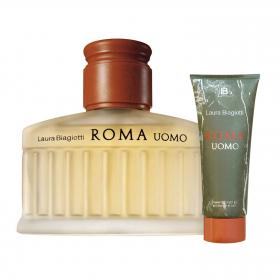 Roma Uomo EdT 75ml & gratis Shower Gel (Reisegrösse)