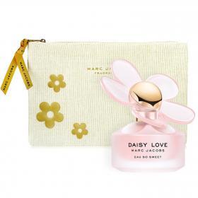 Daisy Love Eau so Sweet Eau de Toilette 100ml & gratis Daisy Pouch