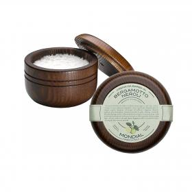 Shaving Cream Wooden Bowl Bergamotto Neroli 140ml