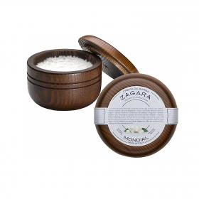 Shaving Cream Wooden Bowl Zagara 140ml