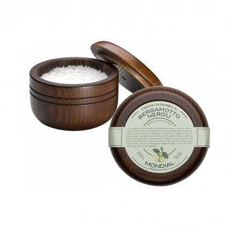 Shaving Cream Wooden Bowl Bergamotto Neroli 140ml