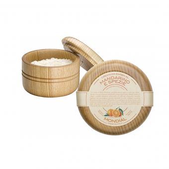 Shaving Cream Wooden Bowl Mandarino e Spezie 140ml