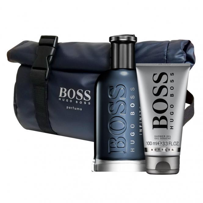 e56bae9135 Produktdetails Boss Bottled Infinite Eau de Parfum 50ml & gratis Beauty Bag  + Shower Gel